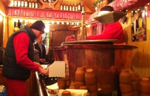 Feuerzangenbowle Stand